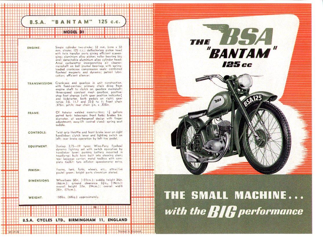 1960 D7 Sales Manual. BSA Service ...